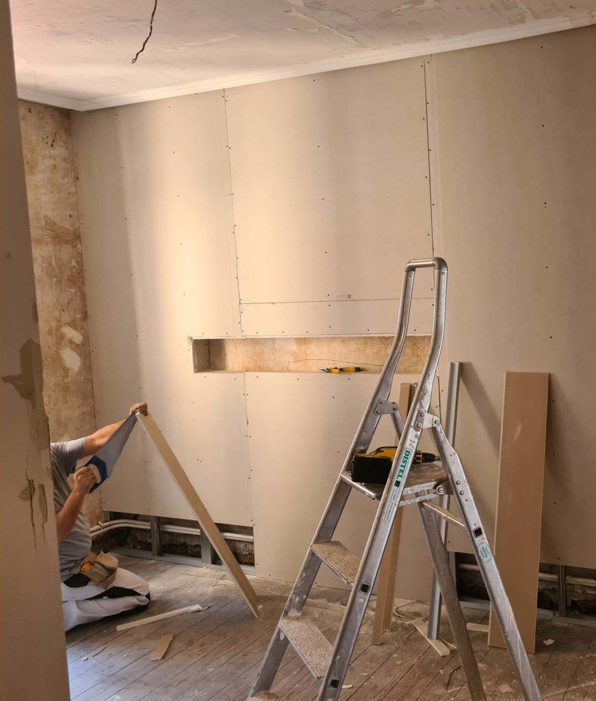 Projet clé en main décoration intérieur et suivi chantier