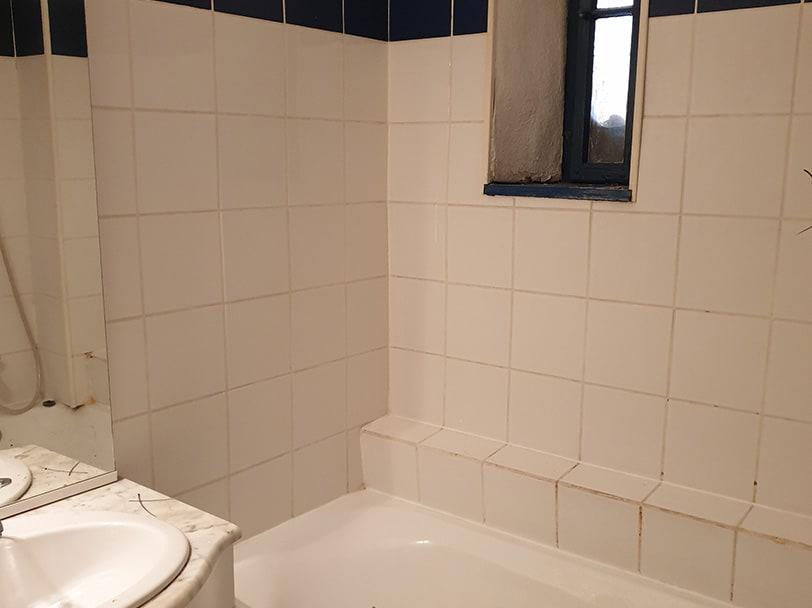 Home staging avant après salle de bain strasbourg