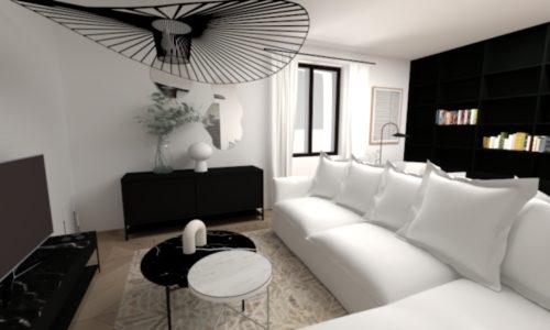 Réalisation Eodesign, décoratrice intérieur strasbourg Plan 3D 4